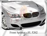 BMW 5 Series E60 M5 Front Splitter