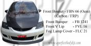 Honda City 2004 Front Bumper + V-Lip + Fog Lamp Cover