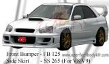 Subaru Version 8 2004 CS Front Bumper & Side Skirt
