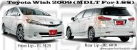 Toyota Wish 2009 MDLT Style For 1.8S