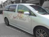 Toyota Wish 2006 WLD Style Side Skirt