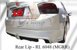 Honda City 2008 MG RR Rear Lip