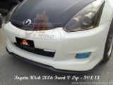 Toyota Wish 2006 Front V Lip