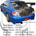 Subaru Version 8 Rear GT Wing Spoiler (VTX Style)