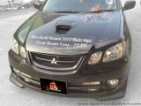 Mitsubishi Airtrek 2002 Ralli Style Front Bonnet Scoop