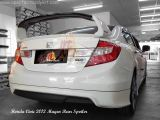 Honda Civic 2012 Mugen Rear Spoiler