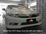 Honda Civic 2012 Mugen Front Lip with Diffuser