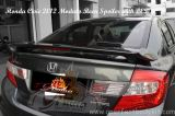 Honda Civic 2012 Modulo Rear Spoiler With LED
