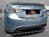 Hyundai Elantra MD 2011 Rear Lip & Rear Boot Lip Spoiler