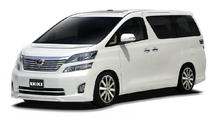 LUXURY FLEET : TOYOTA VELLFIRE