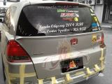 Honda Odyssey 2004 RB1 Rear Center Boot Lip Spoiler