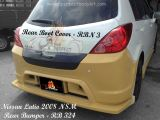 Nissan Latio 2008 NSM Rear Boot & Rear Bumper