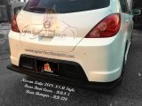 Nissan Latio 2008 NSM Rear Boot Cover & Rear Bumper