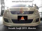 Suzuki Swift 2013 Monster Front Skirt
