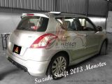 Suzuki Swift 2013 Monster Side Skirt