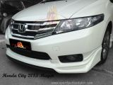 Honda City 2013 Mugen Front Skirt
