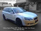 Modify Dam Style Front Bumper & VTX Style Side Skirt for Subaru Legacy Wagon
