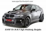 BMW X6 HMN Style Widebody Bodykits
