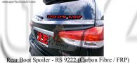 Toyota Wish 2009 Rear Boot Spoiler (Carbon Fibre / FRP)