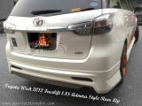 Toyota Wish 2012 Facelift 1.8S Admira Style Rear Lip
