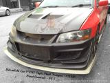 Mitsubishi Evo 9 VRS Style Front Bumper & Front Canards