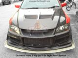 Customize Front V Lip for VRS Style Front Bumper