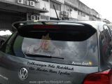 Volkswagen Polo Hatchback Air Master Rear Spoiler