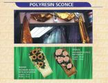 Polyresin Sconce