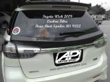 Toyota Wish 2009 Carbon Fibre Rear Boot Spoiler