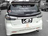 Toyota Wish 2009 Carbon Fibre Rear Spoiler & Rear Boot Spoiler