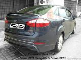 Customize Ford Fiesta Sedan 2011 Bodykits to Sedan 2013