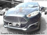 Modify Ford Fiesta Sedan 2011 Bodykits to Sedan 2013