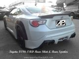 Toyota FT86 TRD Rear Skirt & Rear Spoiler
