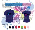 HT 0112 (Couple T-Shirt) - Mr.Mrs Love
