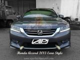 Honda Accord 2013 Euro Style Front Skirt