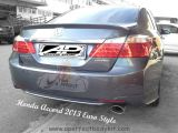 Honda Accord 2013 Euro Style Rear Boot Lip Spoiler