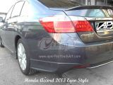 Honda Accord 2013 Euro Style Rear Skirt