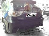 Subaru 2008 Version 10 Sym Style Rear Bumper
