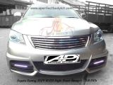 Toyota Camry 2009 WLD Style Front Bumper & Chrome Front Grill