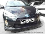 Toyota Prius C TRD Sportivo Front Lip with LED