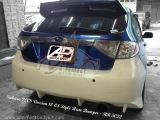 Subaru 2008 Version 10 CS Style Rear Bumper