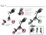 Big Max IQ + 3 Wheels Golf Trolley