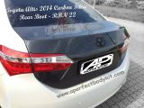 Toyota Altis 2014 Carbon Fibre Rear Boot