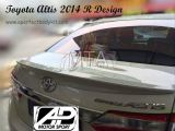 Toyota Altis 2014 R Design Rear Boot Lip Spoiler