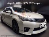 Toyota Altis 2014 R Design Side Skirt