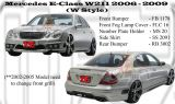 Mercedes E Class W211 2006-2009 WLD Style