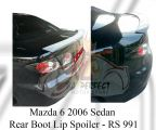 Mazda 6 2006 Rear Boot Lip Spoiler