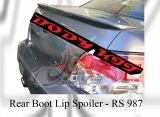 Subaru 2004 Version 8 / 2006 Version 9 Rear Boot Lip Spoiler