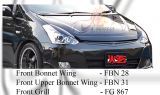 Toyota Wish 2006 Front Bonner Wing & Front Grill