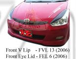 Toyota Wish 2006 Front V Lip / Front Eye Lid